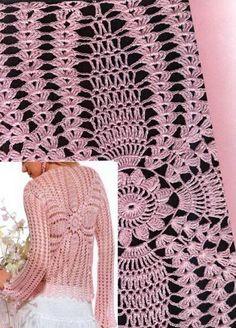 Crochet Sweater: Sweater - Crochet Sweater for Ladies