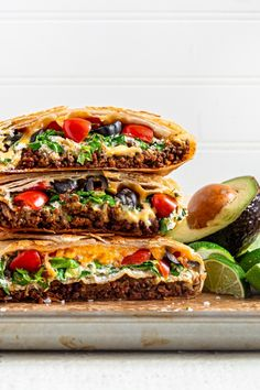 The iconic crunchwrap supreme is ridiculously tasty! If you enjoy Taco Bell crunchy beef tacos you'll enjoy this homemade crunchwrap recipe. It's better than the original! At home we can use higher-quality ingredients than the fast food version. And with a few ingredient swaps you can make it even healthier. Pin this easy recipe to make it later!