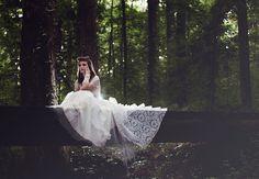 "1950's Wonderland ""trash the dress""  //  photo says hello"
