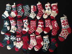 Ravelry: liesbraam's Mini Christmas Stockings