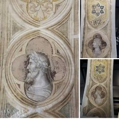 Altichiero. Sottarchi della loggia scaligera attigua a Palazzo dei Signori.  Museo degli Affreschi. Verona.