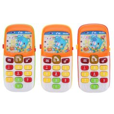Electronic Toy Kids Phone Baby Mobile Phone Cellphone Telephone Educational Toys Baby Phone Toy