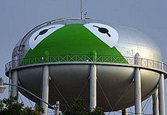 Oh my goodness I can't believe I found their water tower on Pinterest, baha that's awesome...Kermit, Texas of course <3