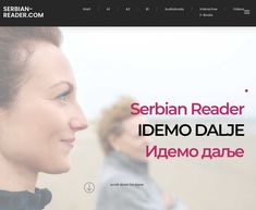 Finally our website has a beautiful new look: check out our re-designed homepage and discover your favorite book, ebook or audiobook for learning Serbian. Books To Read, Audiobooks, Website, Reading, Videos, Check, Beautiful, Serbian, Studying