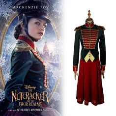 2018 The Nutcracker and the Four Realms Cosplay Clara Costume Uniform Full  Set  fashion   c3c99d6f2834