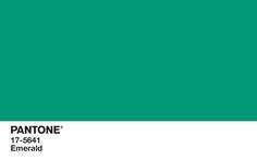 Pantone's #coloroftheyear: Emerald