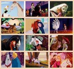 Over the years, Disney has created some pretty awesome horses.