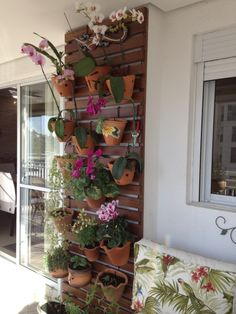 jardim vertical varanda apartamento - Pesquisa Google