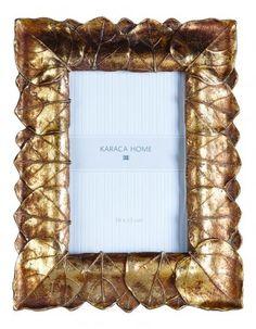Karaca Home Gold Leaf Çerçeve 18x2.50x23.10 cm.