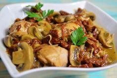Slow Cooker Sun-Dried Tomato Chicken MarsalaFollow for  Mein Blog: Alles rund um Genuss & Geschmack  Kochen Backen Braten Vorspeisen Mains & Desserts!