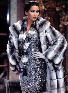 Chinchilla fur coat #furonline #furtrade #fur #chinchillafur #auctions…