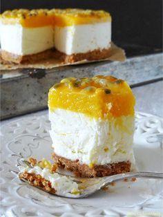 Meine Küchenschlacht: Eistorte mit Mango & Passionsfrucht { Buchvorstellung } Torten von Linda Lomelino
