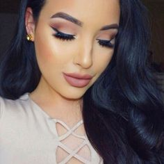 """""""Makeup tutorial on my """"go to neutral look"""" is up on my YouTube channel..."""" *Click Pic for Makeup Details* (Pic: @amandaensing)"""