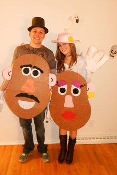 Mr & Mrs Potato Head costume