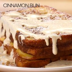 Cinnamon Bun French Toast Recipe by Tasty