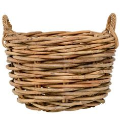 Grosser Rattan Korb Wicker Baskets, Beach, Mountain, Chic, Home Decor, Patio, Hello Spring, Home Accessories, Decorating