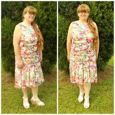 Shutter Dress In Floral Print #ShareMeGB #GwynnieBee