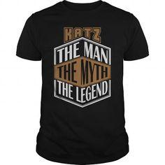 Cool KATZ THE MAN THE LEGEND THING T-SHIRTS T shirts