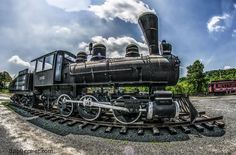 Day #244- 1915 Porter Steam Locomotive, Palmer Massachusetts | Bob Bernier Photography