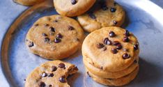 Pumpkin + chocolate chips = a cookie so good you'll have it for dessert and breakfast again in the morning!