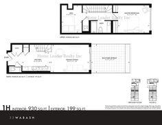 35 Wabash - Maziar Moini Broker Home Leader Realty Inc. New Condo, Backyard Retreat, Mls Listings, Real Estate Broker, Ground Floor, Townhouse, Terrace, Toronto, Master Bedroom