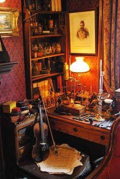 Visiting Fictional History: Sherlock Holmes Home - Sherlock Holmes, Watson Sherlock, Jim Moriarty, Sherlock John, Arthur Conan Doyle, Sir Arthur, Apartment Therapy, Sightseeing London, Holmes On Homes