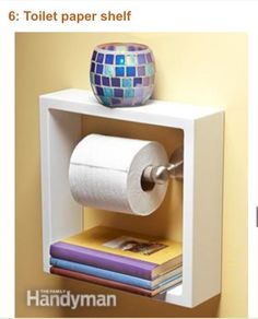 Easy, Cute And Inexpensive Ways To Decorate And Organize Little Bathrooms!! #Home #Garden #Trusper #Tip