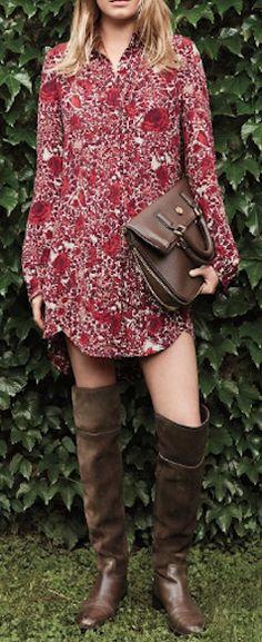 cabernet-hued dress  http://rstyle.me/n/nk8vspdpe