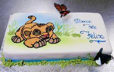 Lion king cake by buttercreamfantasies.deviantart.com on @deviantART