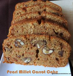 ultimaterecipe millets recipes special powered carrot millet bajra pearl cake by Bajra Carrot Cake Pearl Millet Recipes Millets Special Powered by ultimaterecipeYou can find Millet recipes indian and more on our website Millet Cake Recipe, Millet Recipe Indian, Cake Recipes, Snack Recipes, Cooking Recipes, Breakfast Cookies, Breakfast Recipes, Paleo Breakfast, Gourmet