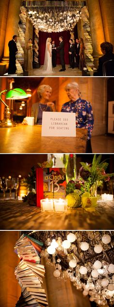 Jessie and Craig | Spectacular book-themed Jewish wedding at the New York Public Library, New York, USA