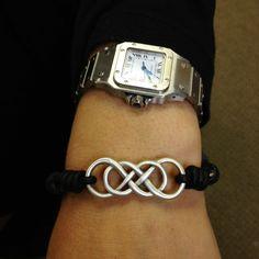 Double infinity ❤ bracelet!!!! LOVE!