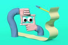 The New York Times - Jack Sachs Illustration | 3D Animation
