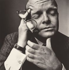 ... Truman Capote © Irving Penn / Irving Penn Foundation