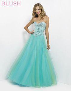e51578ab7cc Blush Prom - 9713 at Estelle s Dressy Dresses! A strapless mermaid ...
