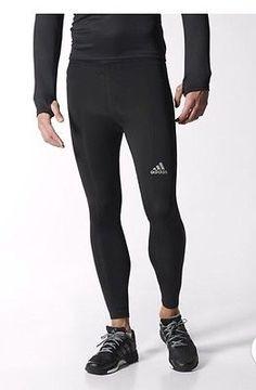 734c5e05309b Nuevo con etiquetas para hombre Adidas Climalite Running Correr Largo  Mallas L Mens Running Tights