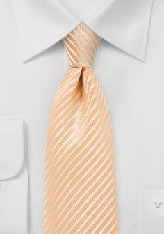 Krawatte Streifenstruktur goldgelb
