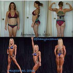The ultimate fitspo, Amy Updike. Mother, RN, and NPC bikini competitor! Amazing transformation!!