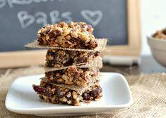Weight Watchers Trail Mix Brownie Bars