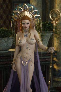 Calliah- Goddess of Spring, lust, sex, gluttony