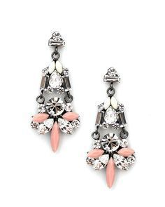 The Urban Princess Earrings in Pink   Sparkle