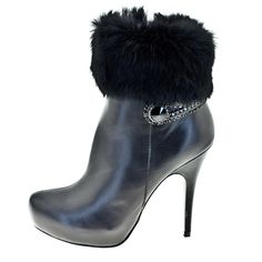 Ankle boots with  hair flap, Roberto Bottela - A/H 2012 2013