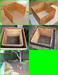 How To Make Concrete Planters-Creative DIY Project | So Creative Things | Creative DIY Projects