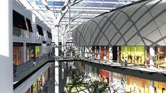 Afbeeldingsresultaat voor docks bruxsel brussel belgië Shopping Malls, Louvre, Architecture, Building, Travel, Arquitetura, Viajes, Buildings, Destinations