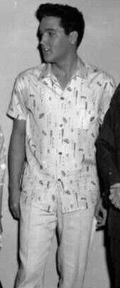 image - Elvis circa 50's