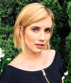 Peinados de celebrities: Short bob con textura