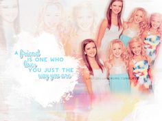a friend is one who loves you just the way you are .. dance moms edits