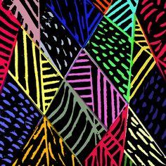 Lino cut and digital - Sarah Bagshaw