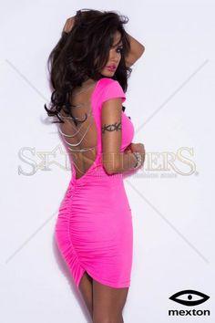 Mexton Urban Motion Pink Dress