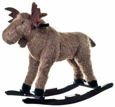 What kid doesn't want a rocking moose? #affiliate